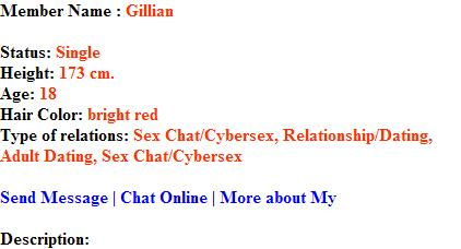 free chatrooms girls looking for sex