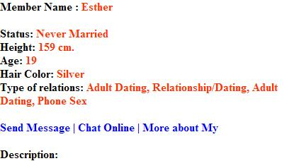cybersex partners from chat